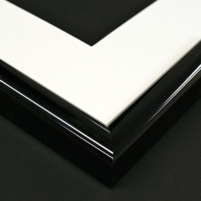 aluminium black frame sample