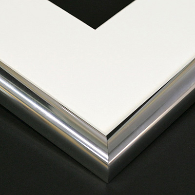 aluminium chrome frame sample
