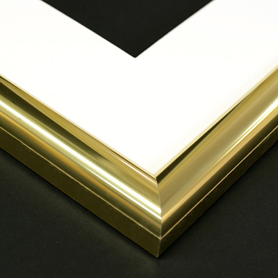 aluminium gold frame sample