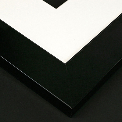 contemporary black frame sample