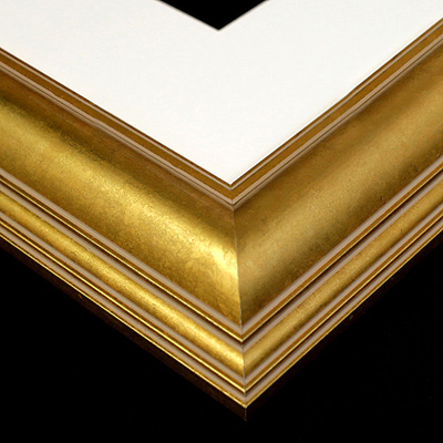 timber gold frame sample