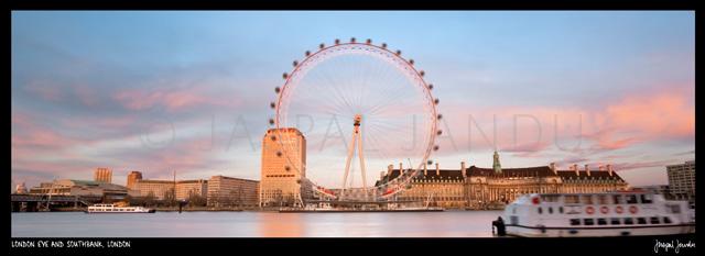London Eye And Southbank, London