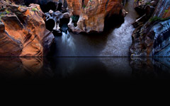 Bourke's Luck Potholes, South Africa