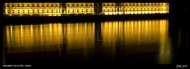 Parliament Reflection, London