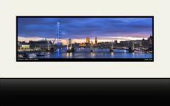 Waterloo Sunset, London