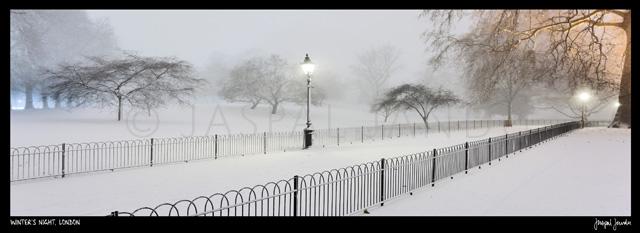Winter's Night, London