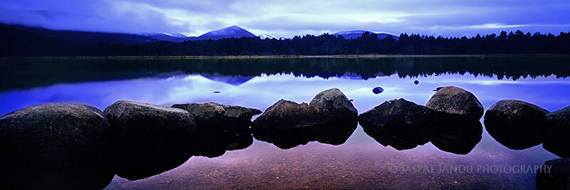 Moods of Loch Morlich, Scotland