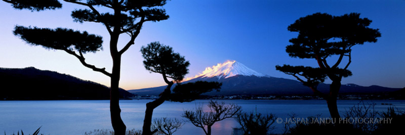 """FIRST LIGHT""  MOUNT FUJI, JAPAN"