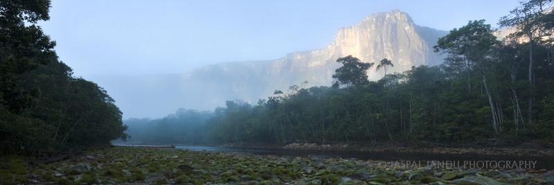 """THE DEEPEST PLACE""  ANGEL FALLS, VENEZUELA"